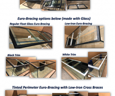 GlassCages Bracing Options